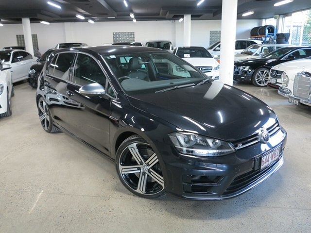 Used Volkswagen Golf VII MY16 R DSG 4MOTION Albion, 2015 Volkswagen Golf VII MY16 R DSG 4MOTION Black 6 Speed Sports Automatic Dual Clutch Hatchback