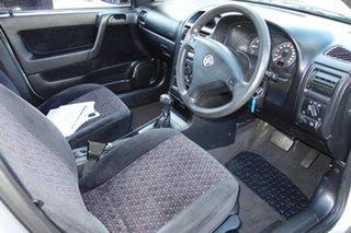2001 Holden Astra TS CD Silver 4 Speed Automatic Sedan