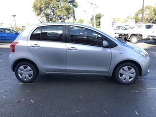 2007 Toyota Yaris NCP90R YR Quicksilver 4 Speed Automatic Hatchback.