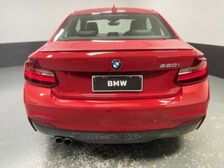 2017 BMW 2 Series F22 220i M Sport Melbourne Red 8 Speed Sports Automatic Coupe