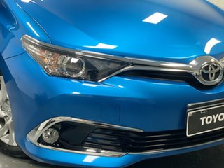 2015 Toyota Corolla ZRE182R Ascent S-CVT Blue 7 Speed Constant Variable Hatchback.