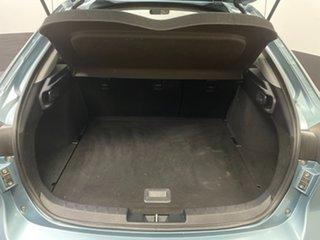 2011 Mitsubishi Lancer CJ MY12 Activ Sportback Green 6 Speed Constant Variable Hatchback