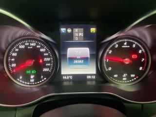 2018 Mercedes-Benz C-Class W205 808MY C300 9G-Tronic White 9 Speed Sports Automatic Sedan