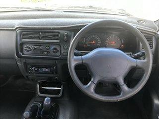 2001 Mitsubishi Triton MK GLX Blue 5 Speed Manual Double Cab Utility.