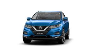 2021 Nissan Qashqai J11 Series 3 MY20 ST-L X-tronic Vivid Blue 1 Speed Constant Variable Wagon.