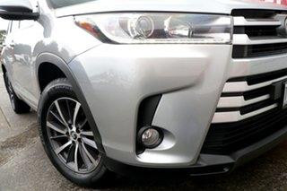 2018 Toyota Kluger GSU50R GXL 2WD Silver 8 Speed Sports Automatic Wagon.