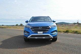 2017 Hyundai Tucson TL Active X (FWD) Blue 6 Speed Manual Wagon.