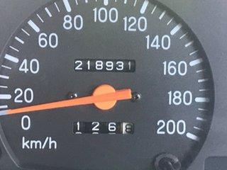 2001 Mitsubishi Triton MK GLX Blue 5 Speed Manual Double Cab Utility
