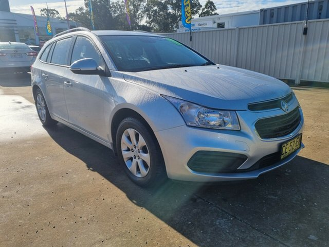 Used Holden Cruze JH Series II MY15 CD Sportwagon Glendale, 2015 Holden Cruze JH Series II MY15 CD Sportwagon Silver 6 Speed Sports Automatic Wagon
