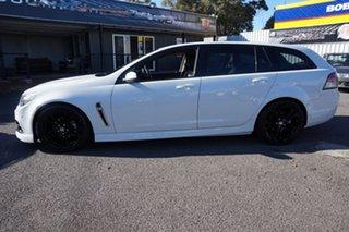 2014 Holden Commodore VF MY14 SV6 Sportwagon Storm Heron White 6 Speed Sports Automatic Wagon.