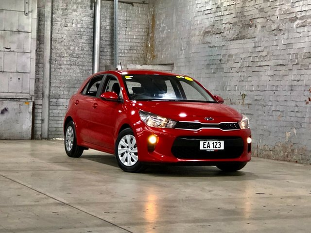 Used Kia Rio YB MY18 S Mile End South, 2018 Kia Rio YB MY18 S Red 4 Speed Sports Automatic Hatchback