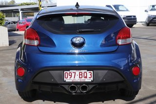 2016 Hyundai Veloster FS5 Series II Street Coupe D-CT Blue 7 Speed Sports Automatic Dual Clutch