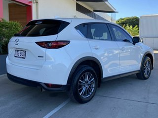 2018 Mazda CX-5 White 6 Speed 6 SP Semi Auto Wagon.