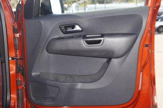 2015 Volkswagen Amarok 2H MY15 TDI420 4MOTION Perm Canyon Orange 8 Speed Automatic Utility