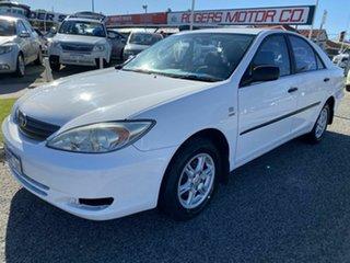 2003 Toyota Camry ACV36R Ateva White 4 Speed Automatic Sedan.