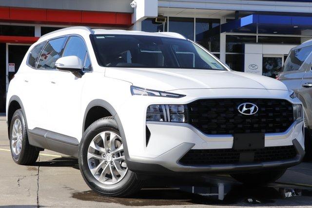 New Hyundai Santa Fe Tm.v3 MY21 DCT Beaudesert, 2021 Hyundai Santa Fe Tm.v3 MY21 DCT White Cream 8 Speed Sports Automatic Dual Clutch Wagon