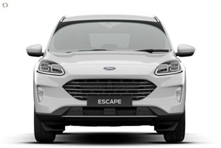 2021 Ford Escape ZH 2021.25MY White 8 Speed Sports Automatic SUV.