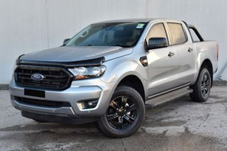 2020 Ford Ranger PX MkIII 2020.25MY Sport Silver 6 Speed Sports Automatic Double Cab Pick Up