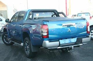 2019 Mitsubishi Triton MR MY20 GLS Double Cab Premium Blue 6 Speed Sports Automatic Utility.