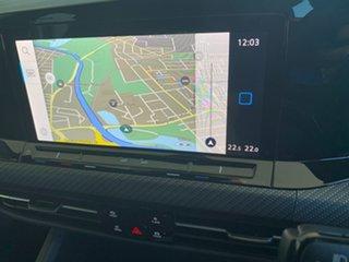 2021 Volkswagen Golf 8 MY21 110TSI R-Line White 8 Speed Sports Automatic Hatchback