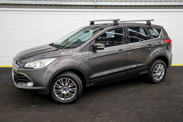 Used Ford Kuga TF MY15 Ambiente 2WD Canning Vale, 2015 Ford Kuga TF MY15 Ambiente 2WD Grey 6 Speed Sports Automatic Wagon