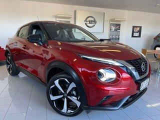 2020 Nissan Juke F16 ST-L Fuji Sunset Red 7 Speed Sports Automatic Dual Clutch Hatchback.