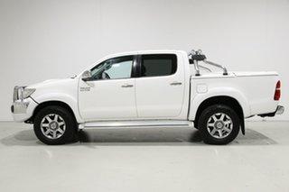 2014 Toyota Hilux KUN26R MY14 SR5 (4x4) White 5 Speed Automatic Dual Cab Pick-up