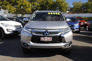 2016 Mitsubishi Pajero Sport QE MY17 Exceed Silver 8 Speed Sports Automatic Wagon.
