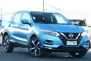 2020 Nissan Qashqai J11 Series 3 MY20 Ti X-tronic Blue 1 Speed Constant Variable Wagon.