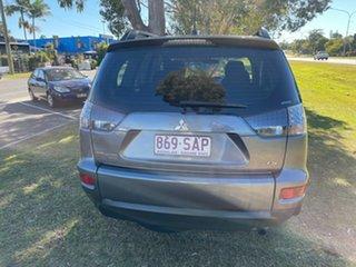 2012 Mitsubishi Outlander ZH MY12 LS Grey 5 Speed Manual Wagon