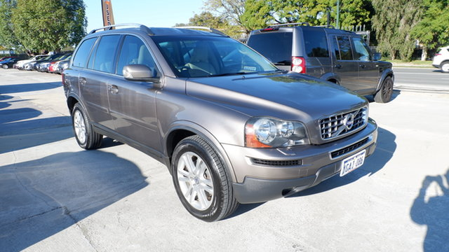 Used Volvo XC90 P28 MY11 D5 Geartronic St James, 2011 Volvo XC90 P28 MY11 D5 Geartronic Bronze 6 Speed Sports Automatic Wagon