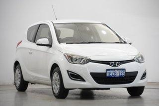2015 Hyundai i20 PB MY16 Active Polar White 6 Speed Manual Hatchback