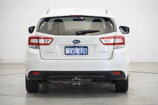2019 Subaru Impreza G5 MY19 2.0i-L CVT AWD White 7 Speed Constant Variable Hatchback