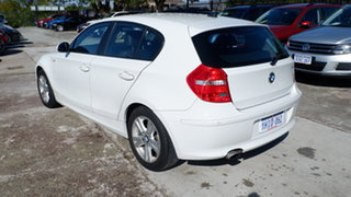 2009 BMW 118i E87 MY09 118i White 6 Speed Automatic Hatchback