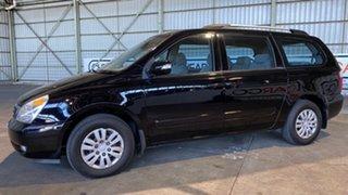 2011 Kia Grand Carnival VQ MY11 SI Black 6 Speed Sports Automatic Wagon.