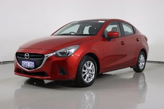 2016 Mazda 2 DJ MY16 Maxx Soul Red 6 Speed Automatic Sedan.