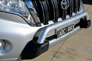 2014 Toyota Landcruiser Prado KDJ150R MY14 GXL Silver 5 Speed Sports Automatic Wagon.