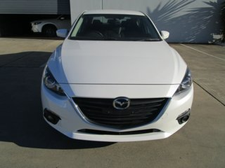 2016 Mazda 3 BM5238 SP25 SKYACTIV-Drive White 6 Speed Sports Automatic Sedan.