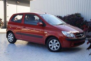 2010 Hyundai Getz TB MY09 S Orange 5 Speed Manual Hatchback.