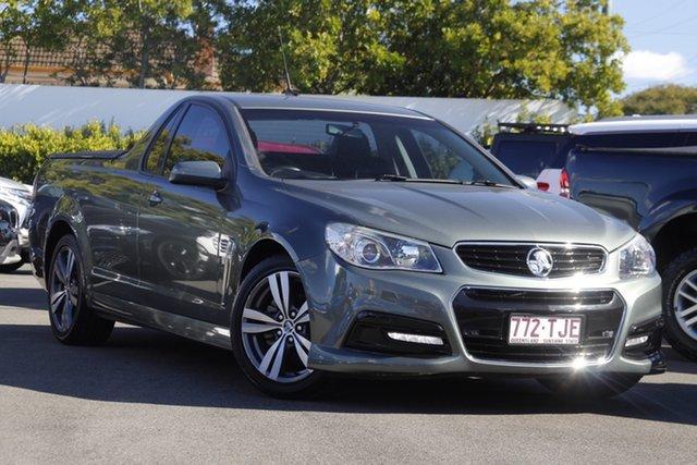 Used Holden Ute VF MY14 SV6 Ute Mount Gravatt, 2013 Holden Ute VF MY14 SV6 Ute Prussian Steel 6 Speed Sports Automatic Utility