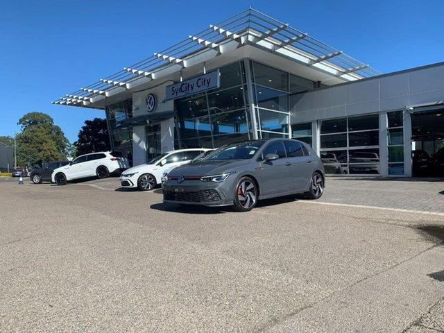 Demo Volkswagen Golf 8 MY21 GTI DSG Botany, 2021 Volkswagen Golf 8 MY21 GTI DSG Grey 7 Speed Sports Automatic Dual Clutch Hatchback