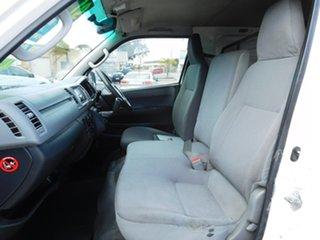 2005 Toyota HiAce KDH200R LWB White 5 Speed Manual Van