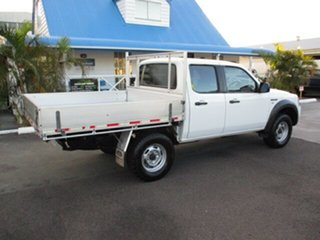 2008 Ford Ranger White 5 Speed Manual Double Cab