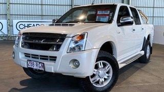 2010 Isuzu D-MAX MY09 LS 4x2 White 4 Speed Automatic Utility.