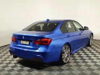 2018 BMW 3 Series F30 LCI 320i Sport Line Estelle Blue 8 Speed Sports Automatic Sedan.