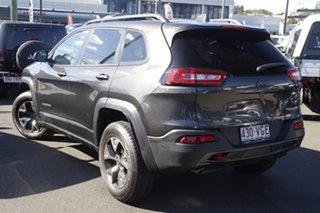 2014 Jeep Cherokee KL Trailhawk Grey 9 Speed Sports Automatic Wagon.