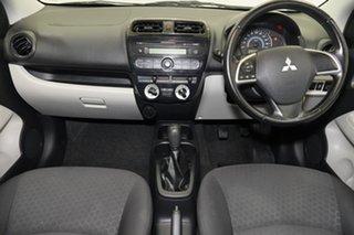 2014 Mitsubishi Mirage LA MY14 ES Red 5 Speed Manual Hatchback