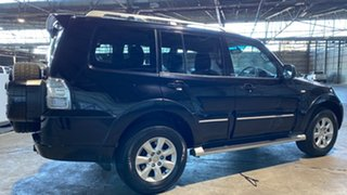2011 Mitsubishi Pajero NT MY11 30th Anniversary Black 5 Speed Sports Automatic Wagon
