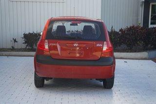 2010 Hyundai Getz TB MY09 S Orange 5 Speed Manual Hatchback
