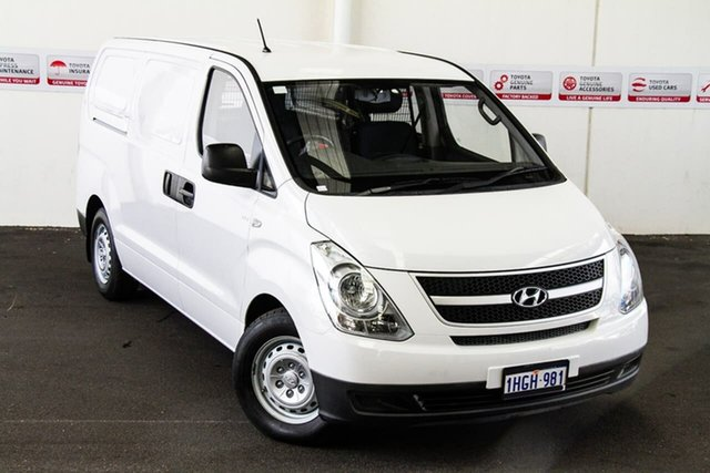 Pre-Owned Hyundai iLOAD TQ MY14 Myaree, 2014 Hyundai iLOAD TQ MY14 White 5 Speed Automatic Van